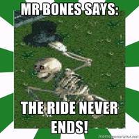 Mr. Bones' Wild Ride