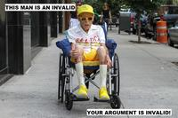 Your Argument is Invalid