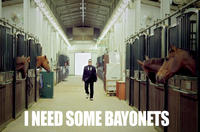Horses and Bayonets