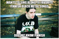 First World Metal Problems