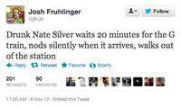Nate Silver / Drunk Nate Silver