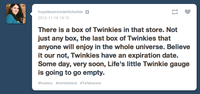 Hostess Bankruptcy / No More Twinkies