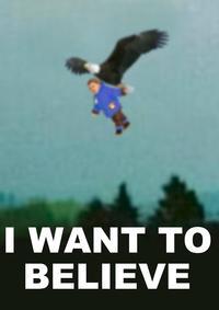 Golden Eagle Snatches Kid
