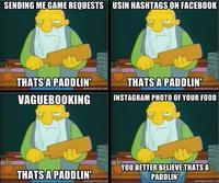 That's a Paddlin'