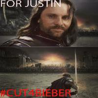 #CuttingForBieber