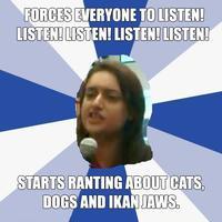 """Sharifah Zohra Jabeen's Tirade / """"Listen Listen Listen Listen"""""""