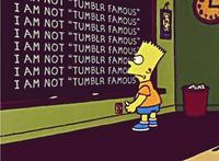Bart Simpson's Chalkboard Parodies