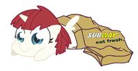 Subway Sandwich Porn