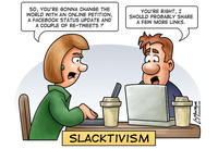 Slacktivism