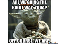 0ab do, or do not, there is no try yoda yodaspeak know your meme