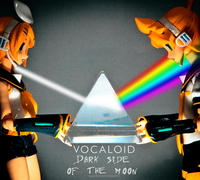 Dark Side of the Moon cover art parodies / X Side of the Y