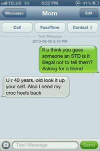 If You Think U Gave Someone an STD, Is It Illegal Not to Tell Them?