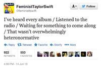 Feminist Taylor Swift