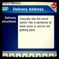 Special Delivery Instructions