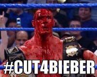 #CuttingForBieber