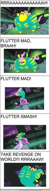 Flutterrage / Flutterbitch