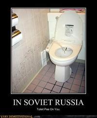 In Soviet Russia...