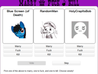 Fuck, Marry, Kill