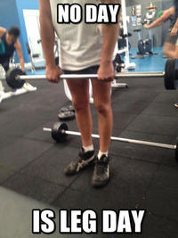 Skipping Leg Day