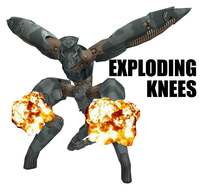 Exploding Knees