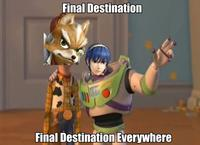 No Items, Fox Only, Final Destination