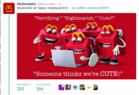 "McDonald's ""Happy"" Mascot"