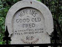 Tombstone Parodies