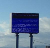 Blue Screen of Death (BSoD)