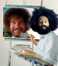 Photoshop Bob Ross