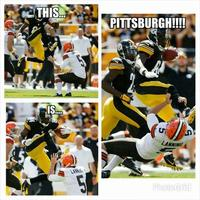 Antonio Brown's Karate Kick
