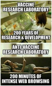 d4b googling vaccines anti vaccination movement know your meme