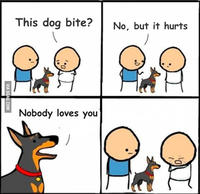 b2c does he bite? image gallery know your meme,Does Your Dog Bite Meme