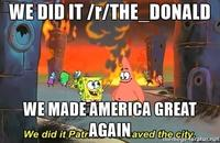65f we did it, patrick! we saved the city! know your meme