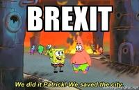 9fd we did it, patrick! we saved the city! know your meme