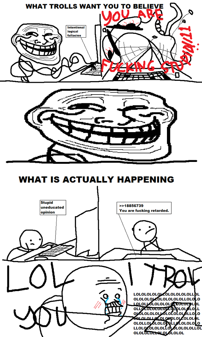 Troll FACE origins.