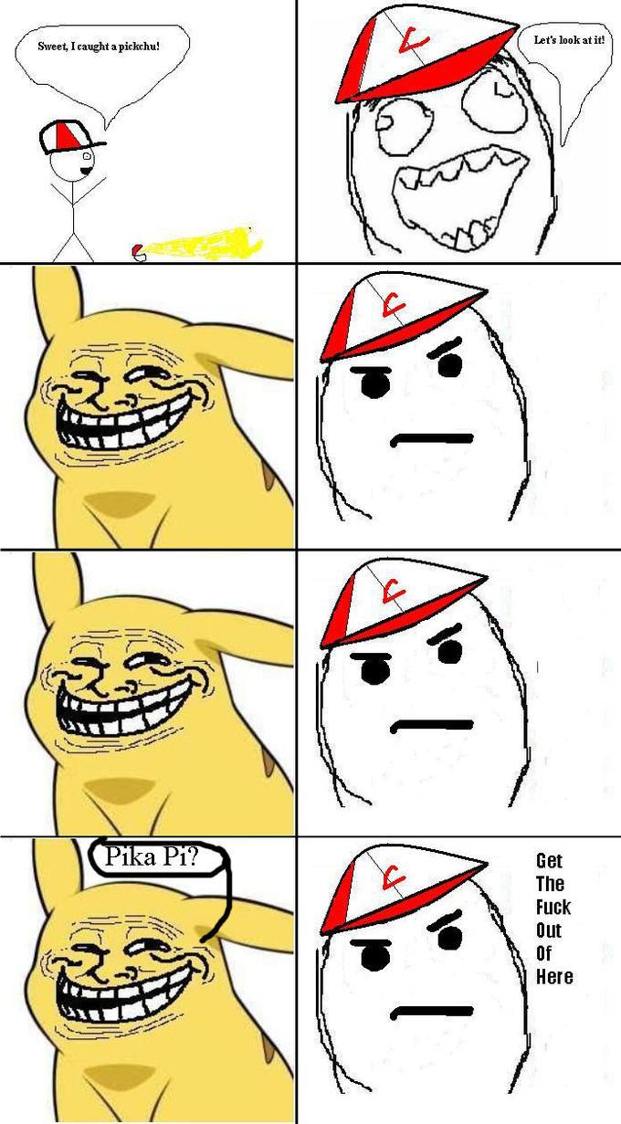 pikachu_cool_face trollface coolface problem? know your meme,The Meme Faces