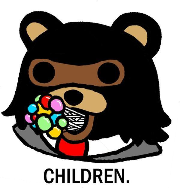pedobear know your meme Bear Clip Art Black and White bear cartoon pictures clip art