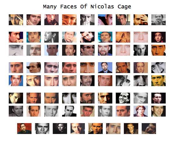 Nic cage as everyone