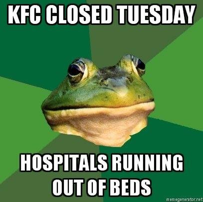 Foul-Bachelor-Frog-KFC-CLOSED-TUESDAY-HOSPITALS-RUNNING-OUT-OF-BEDS.jpg