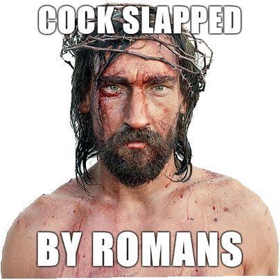 Masturbation-Jesus-Cock-slapped-by-romans.jpg