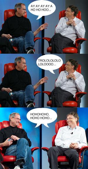 Image 50550 Steve Jobs Vs Bill Gates Know Your Meme