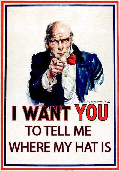 I Want To Be With You: I Want You To Submit Propaganda Parodies