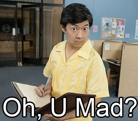 U_Mad2 chang are you mad u mad? know your meme,Why You Mad Memes
