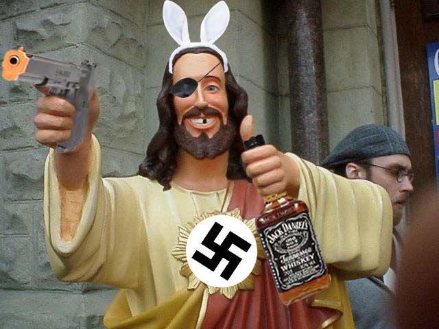 Not_Your_Buddy_Jesus buddy christ image gallery know your meme,Buddy Jesus Meme