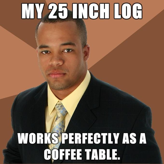 Successful-Negro-My-25-inch-log-works-perfectly-as-a-coffee-table.jpg