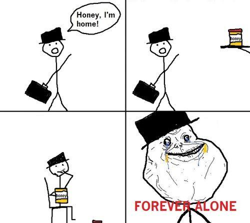 Funnyjunk Meme Comics : Forever alone know your meme
