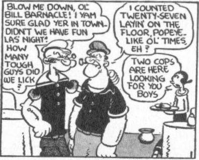 There's something queer about Popeye...
