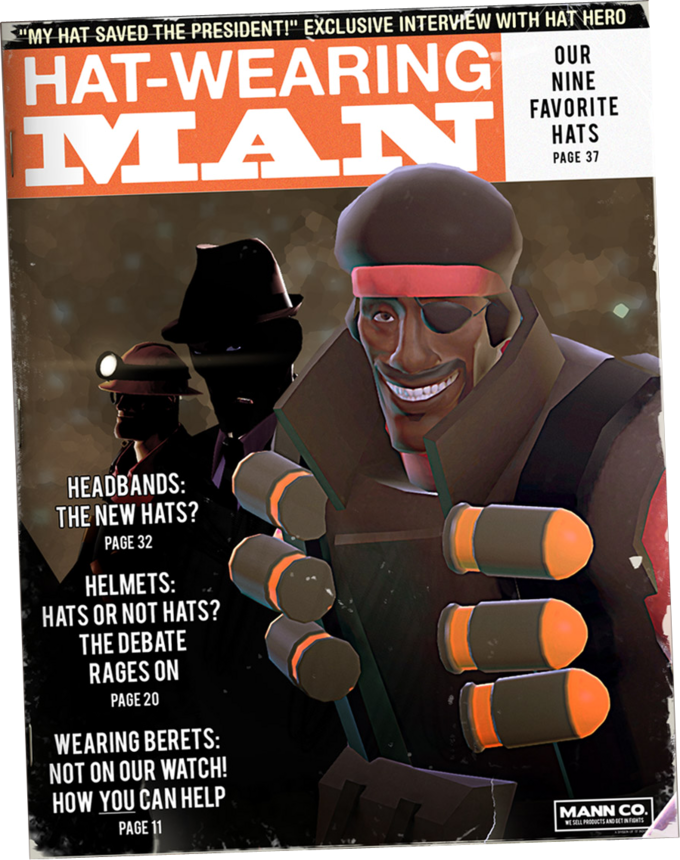 Hat_magazine hat fortress 2 know your meme,Tf2 Memes