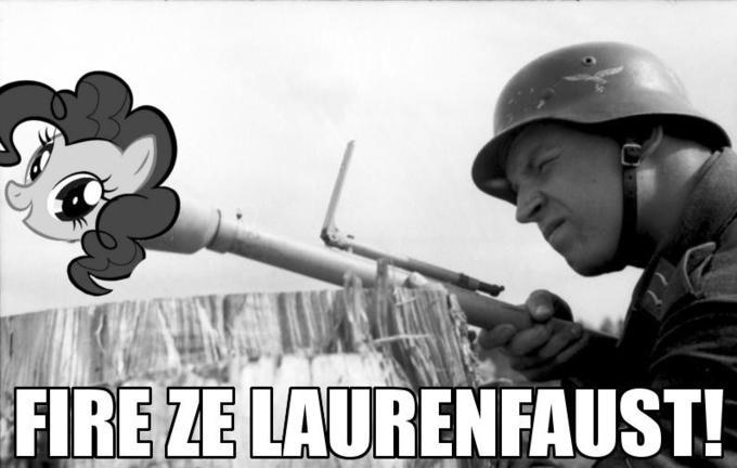 FIRE ZE LAURENFAUST!