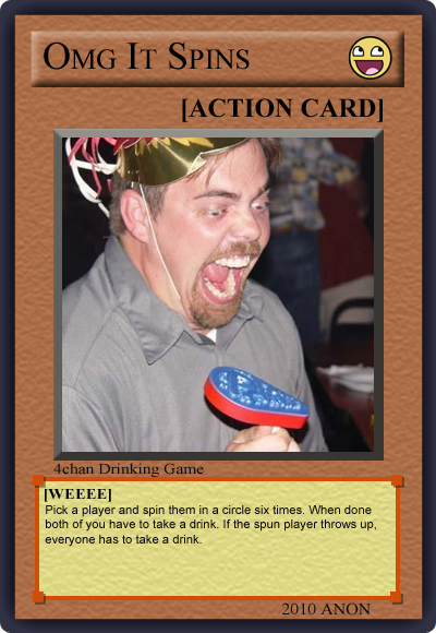 1269404251782 image 122006] 4chan drinking game cards know your meme